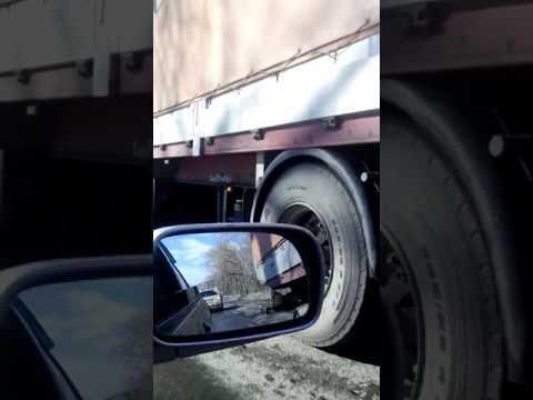 ДТП на выезде из Кемерова 15.03.2017