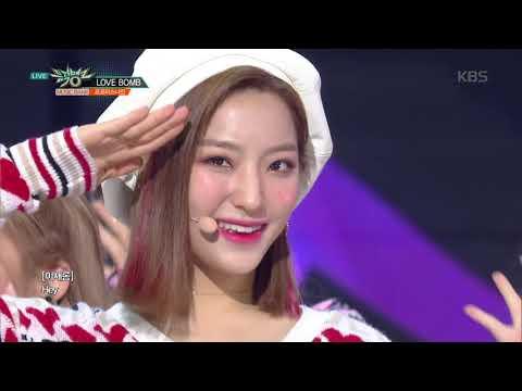 뮤직뱅크 Music Bank - LOVE BOMB  - 프로미스나인(fromis_9).20181102