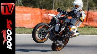 KTM 690 SMC-R 2014 Test | Action, Onboard, Details