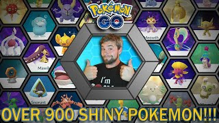 OVER 900 SHINIES! ALL MY SHINY POKEMON IN POKEMON GO! (Pokemon GO)