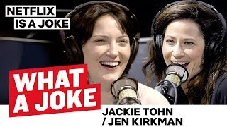 Jen Kirkman Talks Russian Twitter Bots | What A Joke | Netflix Is A Joke