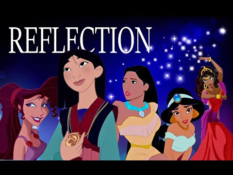 Disney Girls Reflection (Christina Aguilera)