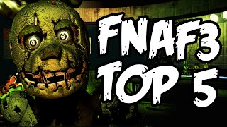 TOP 5 TAJEMNIC Z FIVE NIGHTS AT FREDDY