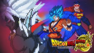Dragon(☆)Ball Sprite Fight: Goku & Superman! [Official Teaser]