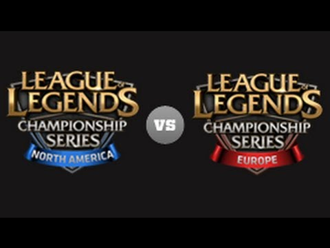 NA LCS vs EU LCS Game1 - All-Star 2013 D2