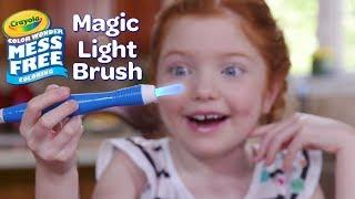 NEW Crayola Color Wonder Magic Light Brush || Crayola Product Demo