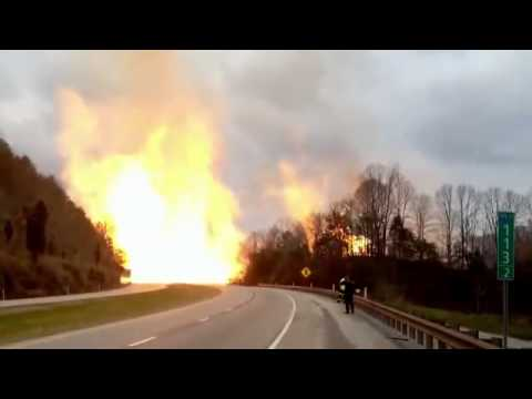 WV Natural Gas Pipeline Rupture 12-2012