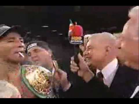 Cedric The Entertainer on Ricardo Mayorga smoking after fight