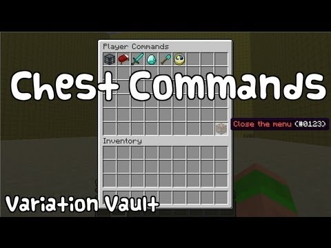 Minecraft Bukkit Plugin - Chest Commands - Run commands from items in a chest!