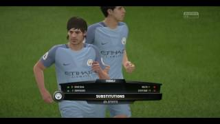 FIFA17 - Manchester United-Manchester City