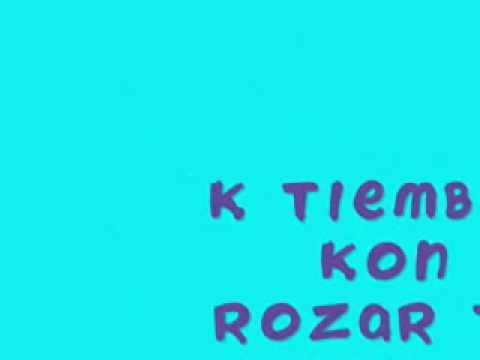 letra kiko y sara tras los libros: