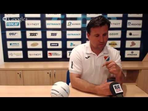 Tisková konference FC Baník Ostrava před utkáním s 1. FK Příbram