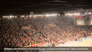 Great Galatasaray Fans in Basketball Game