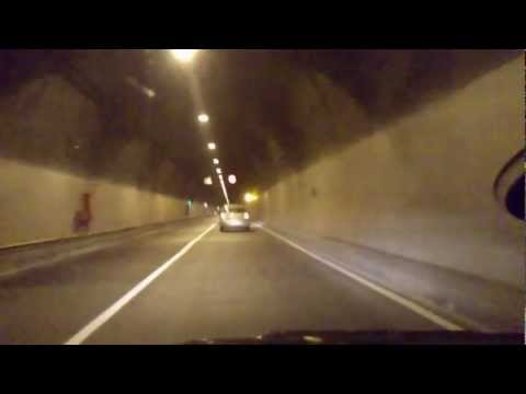 Onboard camera: Funchal-Porto Moniz, Madeira island