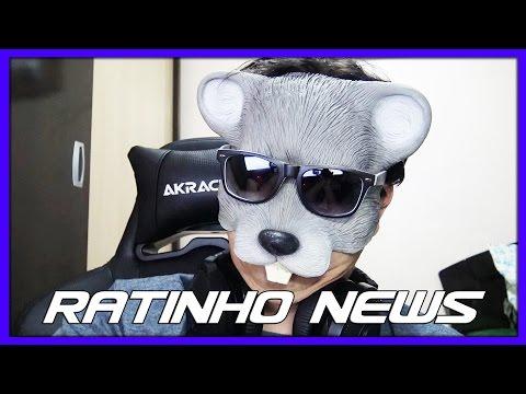 RATINHO NEWS - SEGUNDO VÍDEO, ENQUETES, VOLTA DA LIVE