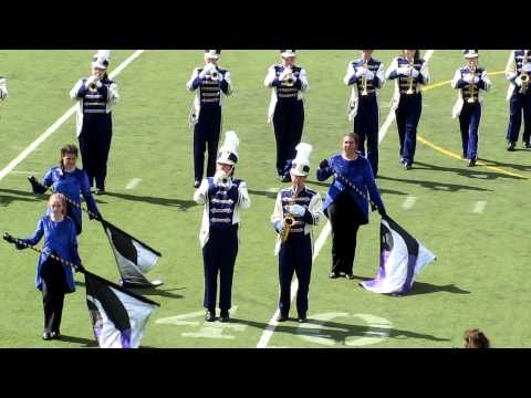 2010-09-04 01 NHSS Marching Band & Color Guard - First Football Game.MOV