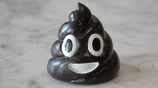 REAL Poop Emoji Made From Dinosaur Poo!!