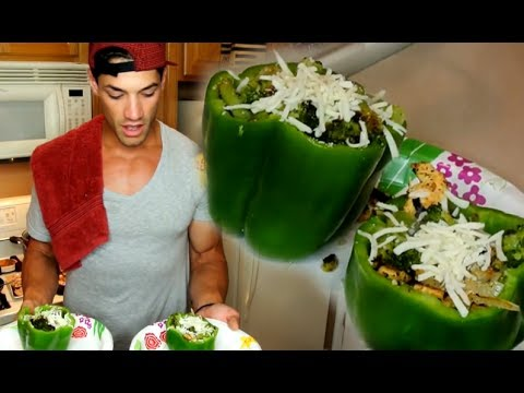 HEALTHY RECIPES:  Delicious Green Pepper Bowls