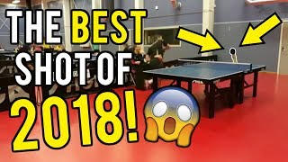 The Best Table Tennis Shot of 2018