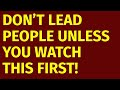 Leadership Skills: How To Be A Good Manager And Leader (120 Tips)