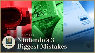 Nintendo's 3 Biggest Mistakes - Gaming Historian