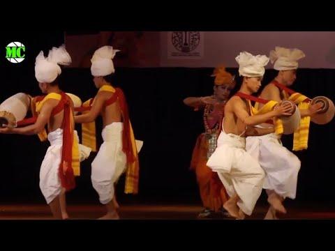 MANIPURI Dance @ Indian Embassy 66th Republic Day Celebration in Yangon