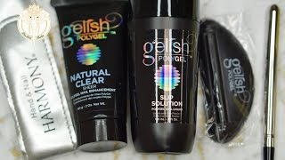 Gelish PolyGel Trial Kit |Unboxing & First Impressions| 2017 | DivaDollFlawless