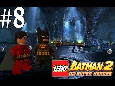 Lego Batman 2 - Walkthrough Part 8 Unwelcome Guests