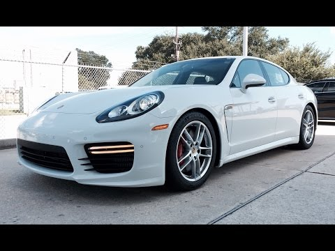 2015 Porsche Panamera Turbo Full Review /Exhaust /Start Up