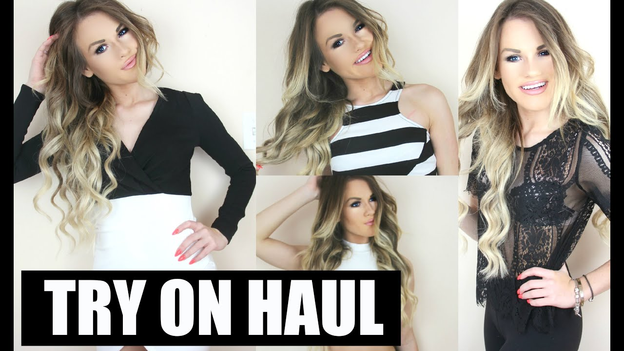 Fashion Nova Haul Try On SPRING TRY ON HAUL Rompers