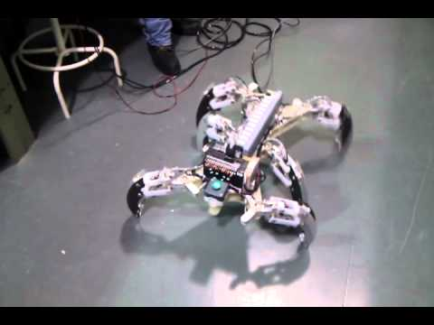 Pneumatic hexapod