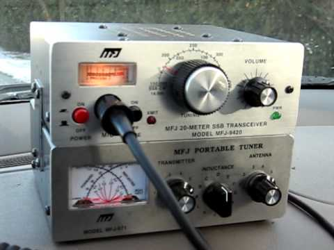 MFJ-9420 QRP transceiver