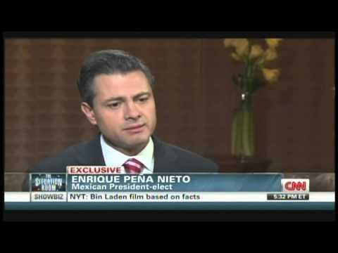 Mexican President-elect Enrique Pena Nieto Interview with Wolf Blitzer (November 27, 2012)