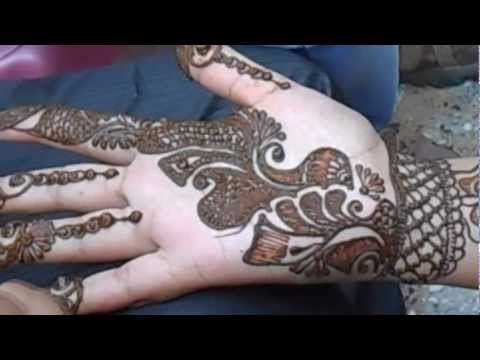 Easy Arabic Mehandi Design-Beautiful Hena Mehandi design For Girls
