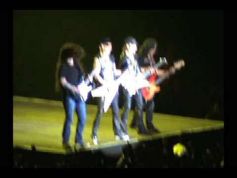 SCORPIONS 20 SEP 2008 MEXICO ROCK YOU LIKE A HURRICANE W ANDREAS KISSER