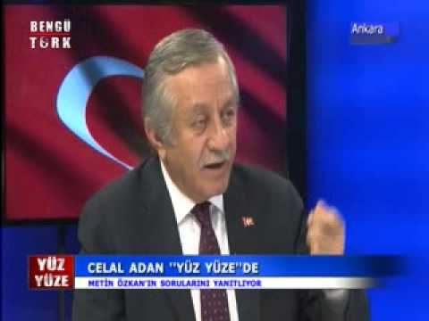 16.10.2014 CELAL ADAN BENGÜTÜRK TV(YÜZ YÜZE)PROGRAM