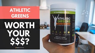 Athletic Greens Review - My Full Experience With This Supplement [REVIEW]