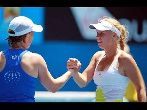 Svetlana Kuznetsova vs Caroline Wozniacki Australian Open 2013 Highlights