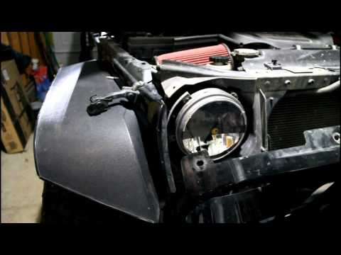 Jeep JK Headlight Adjustment