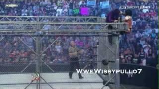 Jeff Hardy vs. CM Punk - Steel Cage Match Highlights