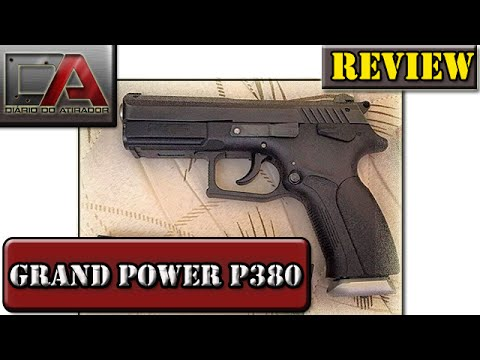 Análise Review da Pistola Grand Power P380 - Calibre .380 Auto