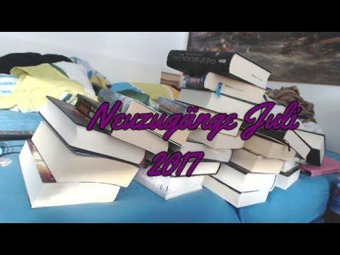 (Book HAUL) Neuzugänge Juli 2017 (26 Bücher) Ich habe mal wieder übertrieben