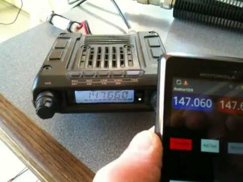 AvatarSDR = GNU Radio core on Moto Droid Android 2.3 + wifi enabled vhf/uhf transceiver