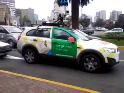 Auto Google Maps Auto de Google Maps Street