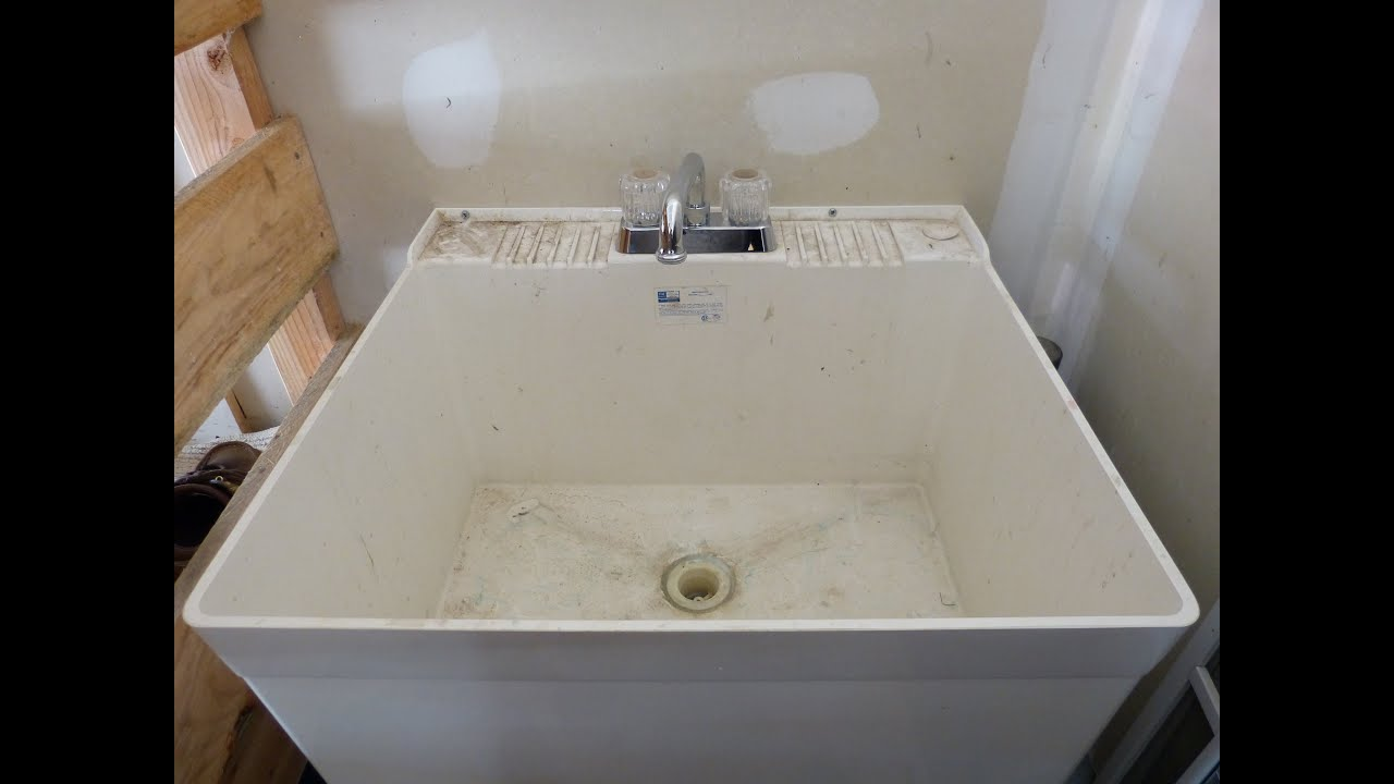 Laundry Project Sink Faucet Replacement Glacier Bay 780
