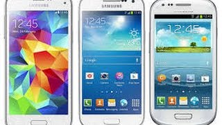 Samsung Galaxy S5 Mini İncelemesi Vs Samsung Galaxy S4Mini&S3Mini