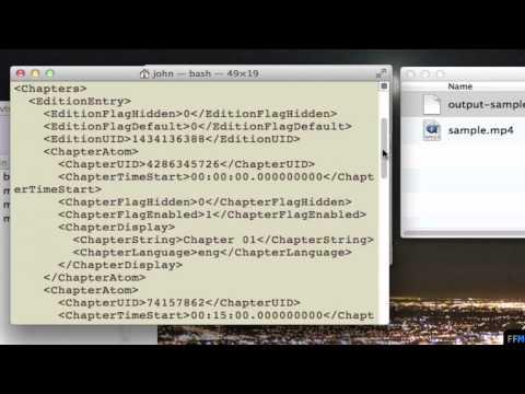 ถอด Chapter จากไฟล์ MKV ฟรีบน Mac