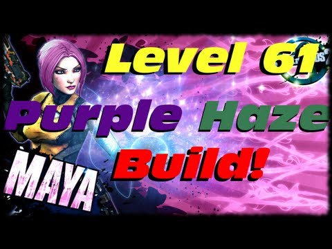 Borderlands 2 Purple Haze Elemental Phaselock Of Destruction Siren Class Build Guide For Maya! UVHM