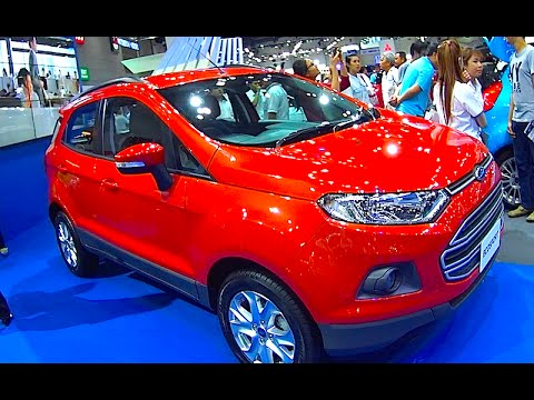 New Ford EcoSport TOP model, 2015, 2016, 2017 video review