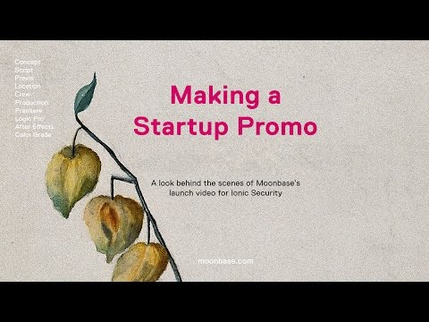 The Making of a Startup Promo Video